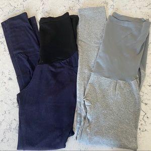 Pants - MATERNITY LEGGINGS SET OF 2